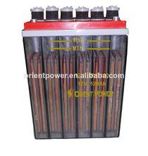 Super- longue durée de vie plaque tubulaire batterie opzs batterie solaire 600ah