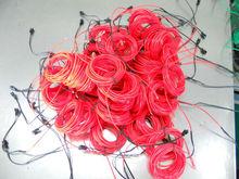 wholesale red el wire 0.8 USD