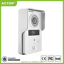 ACTOP New Night Vision android/iphone wifi wireless video door phone with ID card unlock