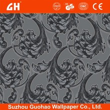 fireproof italian wall covering design pvc vinyl wall covering