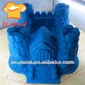 big castelo chocolate molde de silicone bolo molde decoração