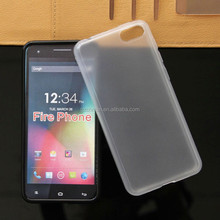 Rubber Clear S Curve Soft TPU Gel Back Cover case For Amazon Fire Phone 3D