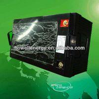 lithium lifepo4 battery for somar module 250watt