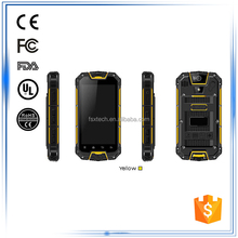 """4.5"""" 3G GPS Bluetooth WIFI Compass Gyroscope G-Sensor Accelerometer Android best rugged mobile phone india with NFC handheld PDA"""