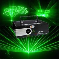 1W green animation laser show / green laser light / disco light