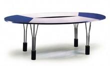 Cheap high quality wedding folding round plastic table
