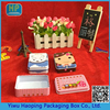 Newly Cute Rectangular Cartoon printed thin tin box for Stationery pencil case for girl