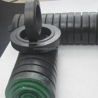 89mm less noise waterproofing rubber roller,conveyor roller,conveyor carrier