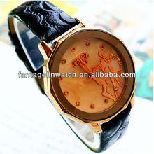 antigüedades populares dama reloj negro