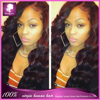 Ideal Hair Arts virgin lace front wig,natural full lace human hair wigs for black women