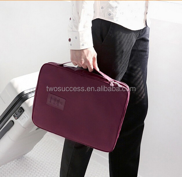 Multifunctional Travel Storage Bag, Waterproof Pouch T-shirt and Ties Finishing Organizating Bag 6 Colors