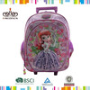 Carry-On Type and Fabric Material trolley travel backpack/kid school bag/trolley school bag