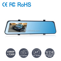 Gift for new car Motion Detection 1280*720P 130 Degree Angle Motion Detection car front and rear camera