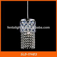 Sld-11483 arabia estilo de la lámpara colgante de cristal azul para la venta
