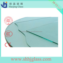 Haojing Float glass silver mirror 1.1 thickness super thin mirror sheet