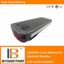 Best price high power electric bike battery, 36V10Ah assembly by samsung 18650