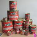 Sıcak satış konserve domates salçası, domates sosu, domates ketçap kaliteli