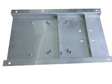 in acciaio inox 316 base con spessore 3mm