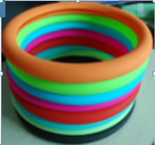 Big Discount colorful steering wheel cover/silicone steering wheel cover