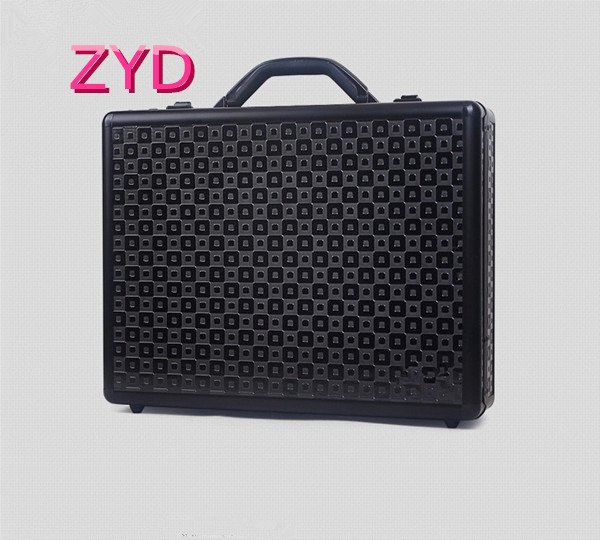 Professional Wholesale China Black Aluminum Hard Cover Laptop Case ZYD-HZMlc002