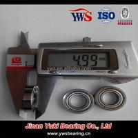 miniature bearing 10x20x5 mm OEM metal shield ball bearing W6800