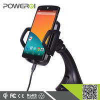 mobile phone charger qi wireless car charger with car holder for Samsung galaxyS5 S4 S3 S2 blackberry HTC one m8 Nexus 5 brand