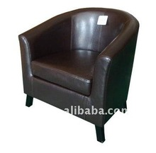 RCH-4046 Living Room Sofas Leather Tub Chair