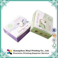 Offset printing matt laminated cheap paper soap display boxes