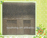 Tan color laminated asphalt Shingles