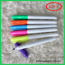 Colored permanent and waterproof ink marker pen for promotion