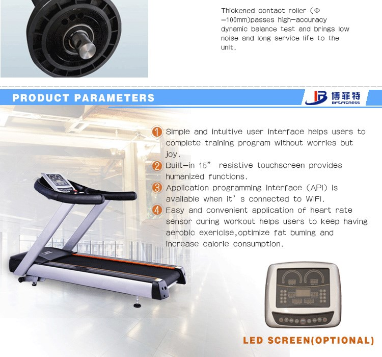 Hot sale commercial treadmill with big discount