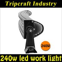 High brightness long service life 240w curved led light bar for trucks