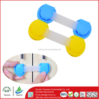 eco-friendly plastic cabinet and drawer baby latches safety locks