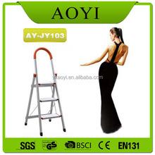 2015 Hot sale 3 steps Price aluminum step ladder