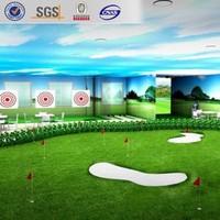 indoor golf field PP artificial grass, 10mm suntex artificial golf grass, cheapest grass for golf course decoration