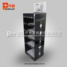 OEM / Custom pop up display stand , 5 tiers cardboard floor display