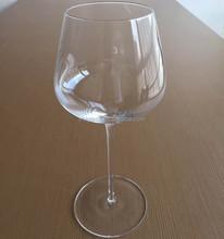 2015 factory price crystal mouthblown custom big wine glass