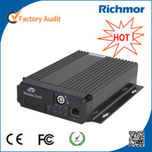 Richmor 4CH4g dvr movil GPS ,Intercom/Motion Detection mobile bus dvr For India