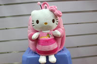 30*20cm character honey bee hello kitty plush bags cute kitty dolls
