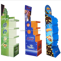 Cardboard Skin care products/makeup/cosmetic display