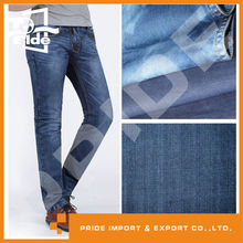 PR-JD386 cotton twill recycled denim jeans fabric stock lots textile