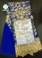 wholesale fashion african french lace fabric for wedding dress
