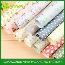 Bio-degradable Glossy Lamination Printing double sided wrapping paper