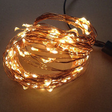 Outdoor Waterproof Xmas Decorative Twinkle Light Mini Led Copper Wire String Lights