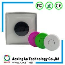 AXAET PC037 round shape sound/vibration/light alert anti-lost alarmer