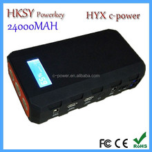 Ce FCC ROHS 24000mah 24V Auto EPS Jump Starter Power King Multifunction Battery Packs