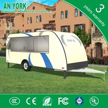 FV-78 best quality car trialer electric police car mobile off wholesale luxury camping carav