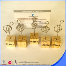 Promotional gifts metal clip name card holder