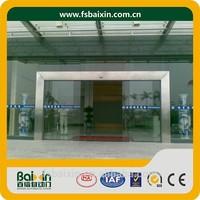Manufacture Automatic Security Exterior Glass Sensor Sliding Shop Door