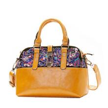 New style handmade Floral Embroidered Velvet Shoulder Bag Embroidery Young Lady Handbag